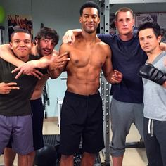 The Fab Five - and Kenny's abs :p