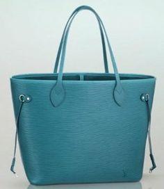 Inspired EPI Blue Neverfull Designer Ladies Handbags A+ Quality Shoulder Bag