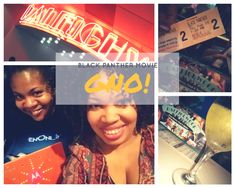 Screening Black Panther at Raleighwood - JenOni
