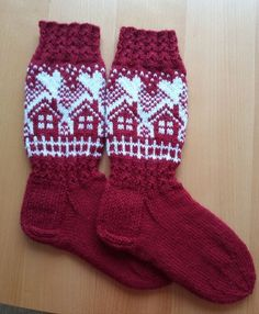 Cotton socks and leggings for in-laws :) - Super knitting