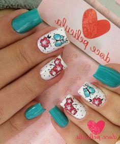 Spring Nails, Nail Designs, Make Up, Stickers, Pretty, Aloe Vera, Amanda, Beauty, Hair
