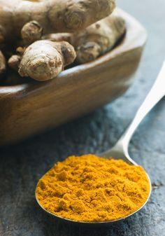 A cúrcuma (açafrão-da-terra) ajuda a eliminar as gordurinhas