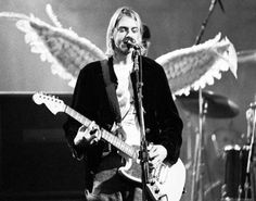 """""""The voice of Nirvana says 'Come as you are' - and I will."""""""