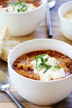Lasagna Soup has all