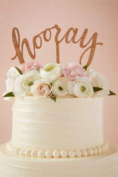 cute hooray cake t