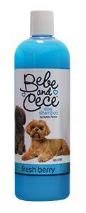 Bebe and Cece dog shampoo by Bobbi Panter