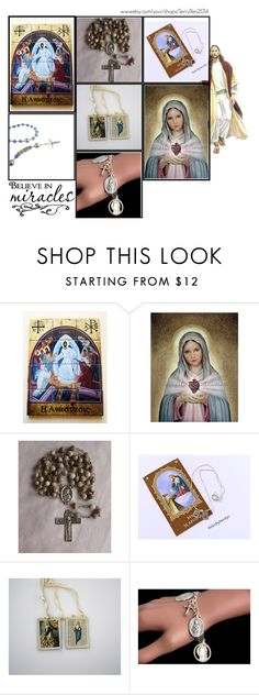 """Religious Art on Etsy by TerryTiles2014 - Volume 72"" by terrytiles2014 ❤ liked on Polyvore featuring interior, interiors, interior design, home, home decor and interior decorating"