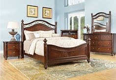 Shop for a Laurel View 5 Pc Queen Bedroom at Rooms To Go. Find Queen Bedroom Sets that will look great in your home and complement the rest of your furniture. Affordable Bedroom Sets, Affordable Furniture Stores, At Home Furniture Store, Furniture Outlet, Kitchen Furniture, Couches, King Size Bedroom Furniture, City Bedroom, Kids Bedroom Sets
