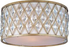 Ceiling Fans Decoration   Maxim Lighting 21452OFGS 3Light Diamond Flush Mount Ceiling ** See this great product. Note:It is Affiliate Link to Amazon. #UniqueCeilingFansYouWillLove