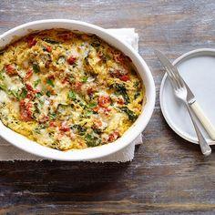 Creamy Spaghetti Squash with Ricotta and Spinach Recipe   Weight Watchers Canada