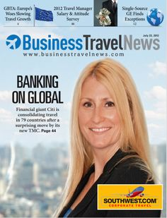 The GBTA issue, July 23, 2012 featuring Citi's Mick Lee on the cover