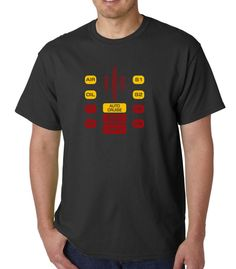 KITT Dashboard (Knight Rider) &raquo Silly Boy T-shirts