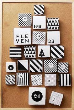 monochrome boxes