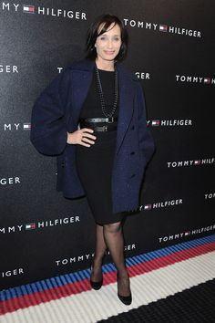 Kristin Scott Thomas Photos - Tommy Hilfiger Champs-Elysees Flagship Opening - Red Carpet - Zimbio