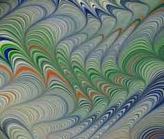 Marbled Paper by Susan Pogany.