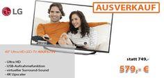 Einfach zum Genießen! Fernsehen in bester Qualität. #LG #UHD #LED #TV