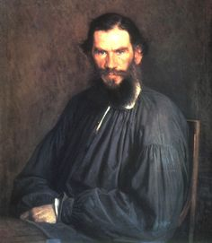Tolstoy * Genius Russian author of War and Peace and Anna Karenina.