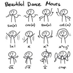 Math + Dance + Stick Figures = <3