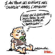 Ils s'appellent Charlie - Dessin du jour - Urtikan.net