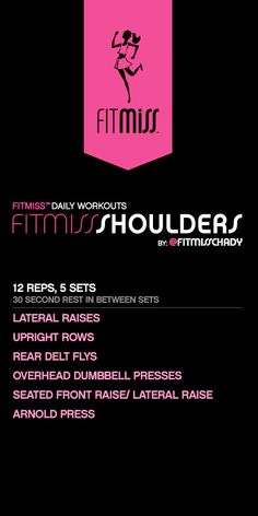 FitMiss Shoulders Workout