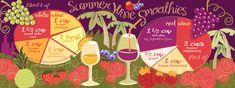 Summer Wine Smoothies by Ruth Bluegirl for TDAC.