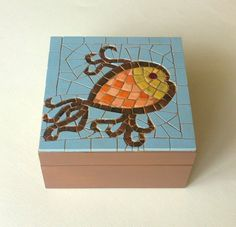 Mosaic jewelry by Mosaicloud on Etsy, €38.50