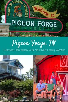 5 Reasons Pigeon Forge TN Needs to Be Your Next Family Vacation Family Getaways, Family Vacation Destinations, Vacation Trips, Travel Destinations, Travel Tips, Romantic Getaway, Romantic Travel, Travel With Kids, Family Travel