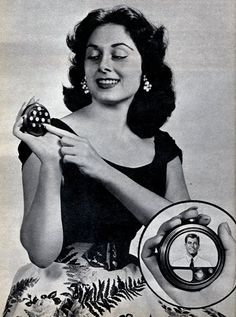 A prediction of future portable phones from 1956