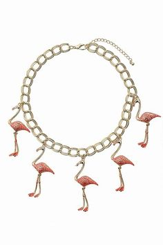 Topshop - Flamingo collar necklace - Topshop Must-Haves for Summer 2012