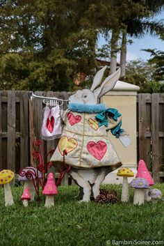 Alice in Wonderland Birthday Party Ideas | Photo 1 of 10 | Catch My Party