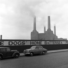 A view of Battersea Power Station by Frederick Wilfred