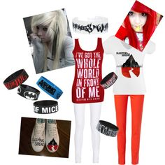 sleeping with sirens outfits