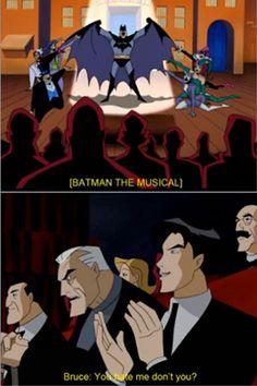 Batman Beyond best scene ever!!! (I laughed so hard at Bruce's reaction.)