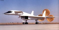 North American XB-70 Valkyrie. Was a experimental intercontinental bomber and two ever made one crashed that cancelled the project so one remains.