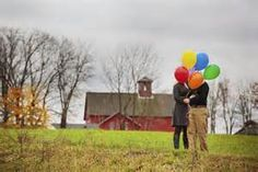 engagement session with balloons - Yahoo Image Search Results