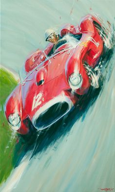 - Acrylic on canvas / Acrylic on canvas - Größe / size cm - Preis a . Formation Marketing, Motos Bmw, Bmw Classic Cars, Mobile Art, Car Posters, Car Drawings, Automotive Art, Car Painting, Vintage Racing