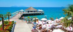 beach in Vlora, Albania