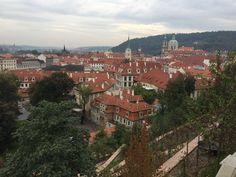 Malá Strana, Prague, from Above
