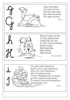 Fichas de leitura de A a Z Reading Worksheets, Learn To Read, Phonics, Teaching, Writing, Education, Decimal, Homeschooling, Word Reading