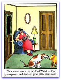 One of my favorite Gary Larson's Far Side Comics