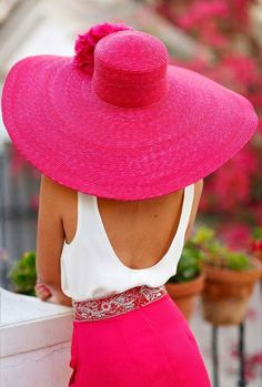 Pink Love, Pretty In Pink, Hot Pink, Perfect Pink, Rosa Hut, Rosa Style, Bcbg, Love Hat, Pink Hat