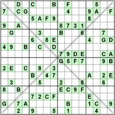 Number Logic Puzzles: 20230 - Sudoku size 16