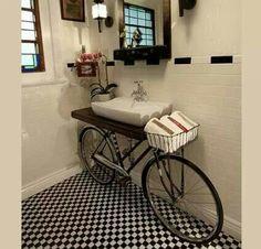 Si no le das uso a la bici siempre puedes hacerte un fregadero xD