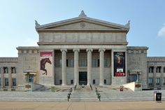 The Field Museum of Natural History is part of a scenic complex known as the Museum Campus Chicago in Chicago, Illinois.