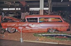 '58 Chevy Delivery Wagon.
