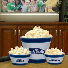 Seattle Seahawks Melamine Bowl Set - Party Supplies #partyshelf #seahawks #superbowl