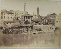 Tempio di Vesta e Cloaca Massima 1880