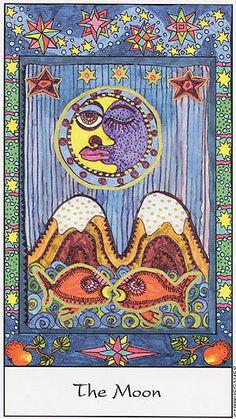 The Moon - Tarot of the Trance