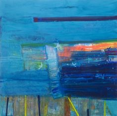 RA Summer Exhibition 2015 work 481 : COLONY - JANUARY by Barbara Rae RA, £57000.