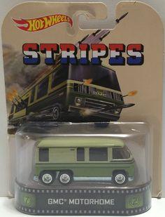 (TAS030581) - 2013 Mattel Hot Wheels Stripes GMC Motorhome